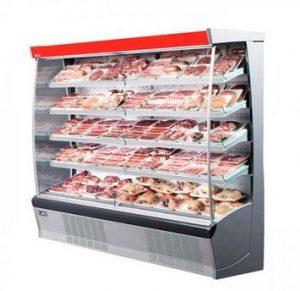 یخچال گوشت و قصابی ویترینی