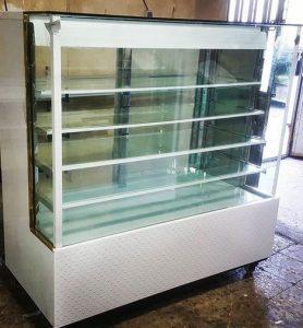 یخچال مکعبی فروشگاهی ویترینی