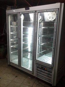 یخچال ایستاده مغازه سه درب نوفراست