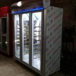 یخچال سه درب ایستاده نوفراست با طبقات متحرک